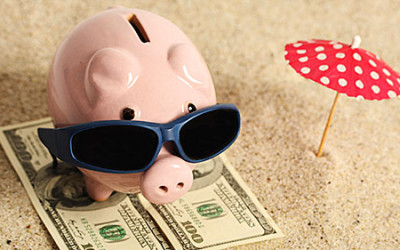 Ways to save money for vacations