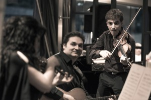 Music on a river cruise